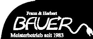 Logo_weiß_Bauer Elektrotechnik Gilching