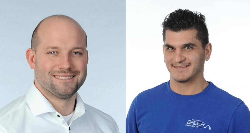 Neue Mitarbeiter bei Elektro Bauer Gilching_Spezialist für Elektroinstallationen
