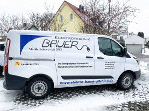 Servicefahrzeug_Bauer Elektrotechnik Gilching_Ford Custom