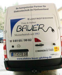 Servicefahrzeug_Bauer Elektrotechnik Gilching_Opel Movano-von hinten
