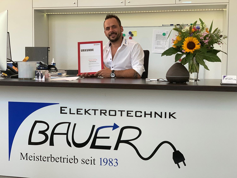 Würth Premium-Partner Elektrotechnik Bauer Gilching - Fünfseenland - 2