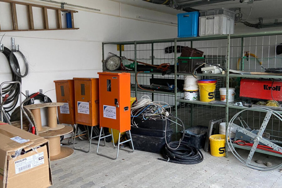 Erweiterung der Lagerkapazitäten: Bauer Elektrotechnik mietet weitere Lagerflächen im Gewerbegebiet Gilching
