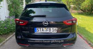 Firmenfahrzeug Opel Insignia 1 - Bauer Elektrotechnik - Ihr Experte für Elektrotechnik in Gilching, Starnberg, Fürstenfeldbruck und München