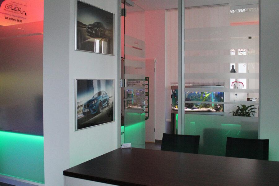 Umgestaltung der Geschäftsräumlichkeiten: Der Chef bekommt sein eigenes Büro
