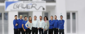 Gruppenfoto Team - Bauer Elektrotechnik - Elektrotechnik in Gilching_2000x800